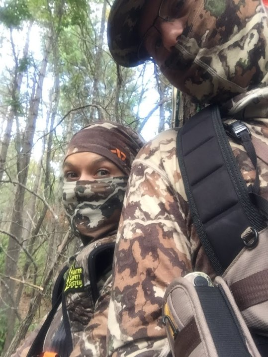 First hunt together to